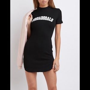 Charlotte Russe Dresses - Charlotte Russe Squad Goals Mini Dress - #1070